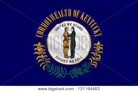 Flag of Kentucky officially the Commonwealth of Kentucky is a state located in the east south-central region of the United States