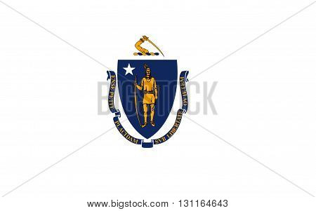 Flag of Massachusetts officially the Commonwealth of Massachusetts is the most populous state in the New England part of the northeastern region of the United States