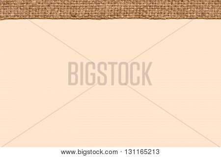 Textile weft fabric interior camel canvas stained material simplicity background