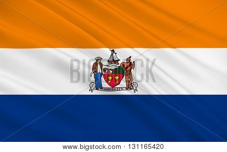 Flag of Albany is the capital of the U.S. state of New York and the seat of Albany County
