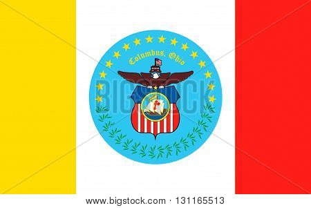 Flag of Columbus is the capital and largest city of the U.S. state of Ohio