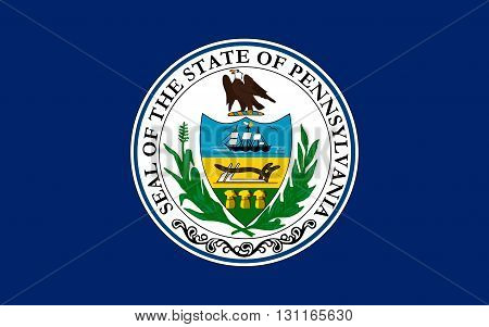 Flag of Pennsylvania officially the Commonwealth of Pennsylvania is a state located in the northern and Mid-Atlantic regions of the United States