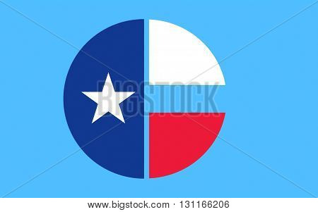 Flag of Collin County is a county located in the U.S. state of Texas