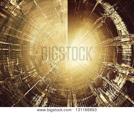 Spherical highly detailed grunge background or scratched vintage texture. With different color patterns: yellow (beige); brown; gray; black