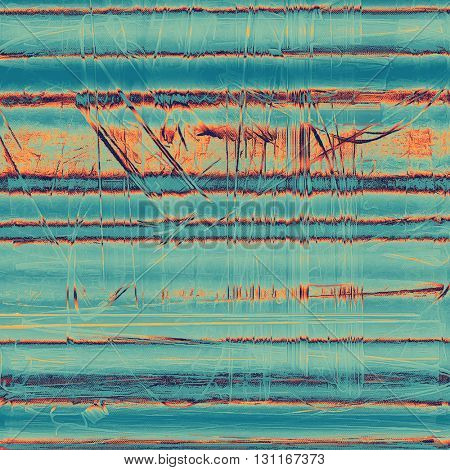 Retro vintage colored background with noise effect; grunge texture with different color patterns: yellow (beige); blue; red (orange); cyan
