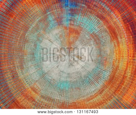 Retro vintage colored background with noise effect; grunge texture with different color patterns: yellow (beige); brown; blue; red (orange); gray; pink