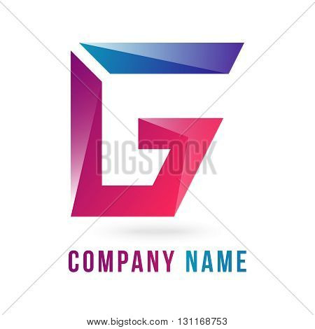 g letter vector logo 100%vector easy to re edit and re-size up to your target