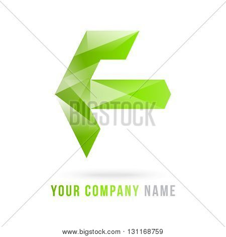 f letter logo design 100%vector easy to re edit and re-size up to your target