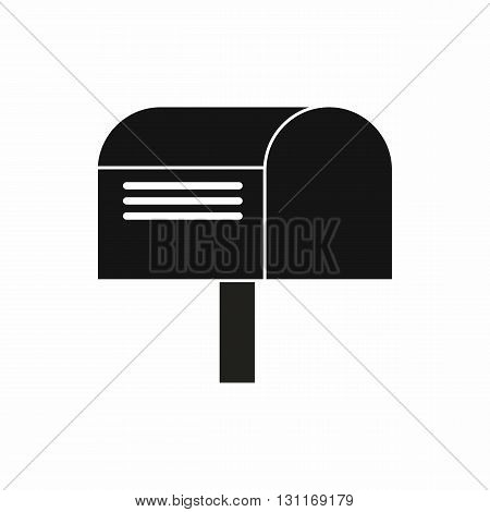 Mailbox icon in simple style on a white background