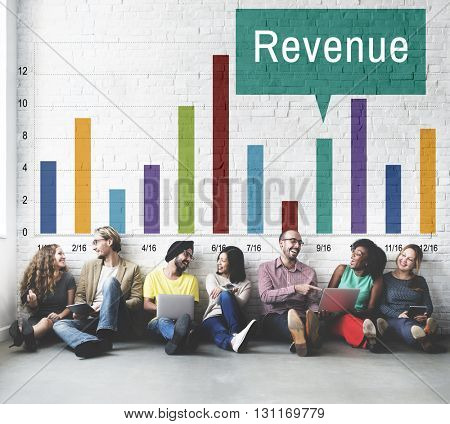 Revenue Profit Income Finance Money Cash Flow Concept