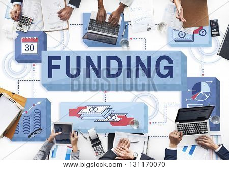 Funding Finance Management Graphics Concept