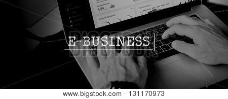 E-Business Commerce Marketing Business Concept