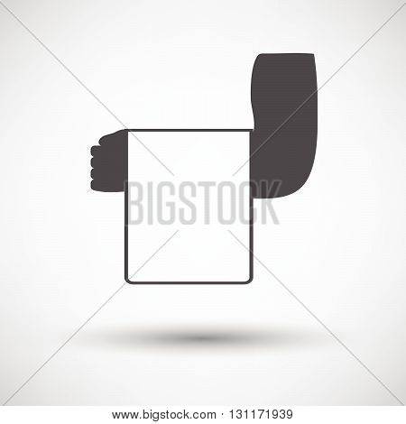 Waiter Hand With Towel Icon