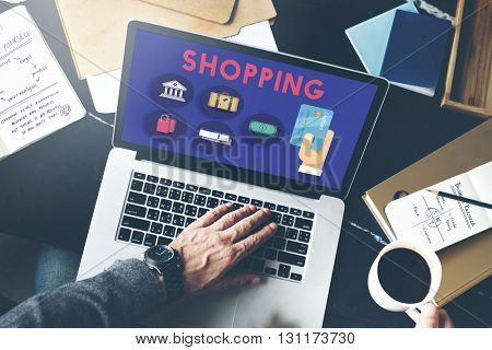 Shopping Buying Commerce Purchase Spending Concept