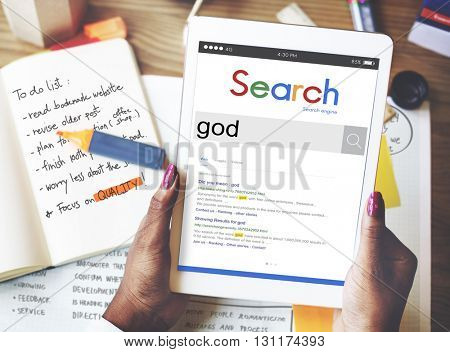 God Believe Holy Bible Jesus Concept