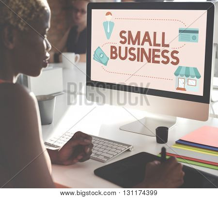 Small Business Niche Market Products Ownership Entrepreneur Concept