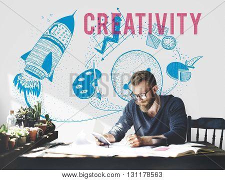Creativity Ideas Imagination Light Bulb Concept