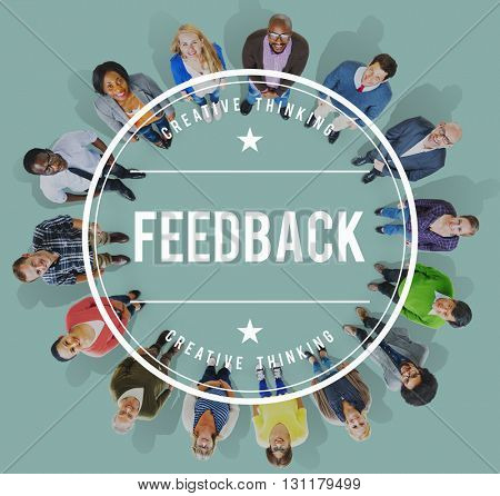 Feedback FAQ Commenting Evaluate Opinion Reply Concept