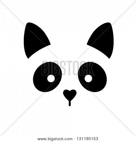 Cat animal sign. Cat illustration idea for logo, emblem, symbol, icon.