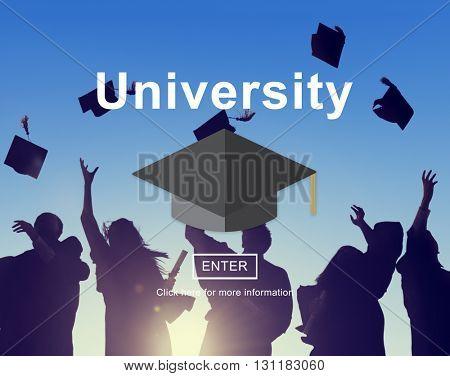University Academy Campus College Education Concept