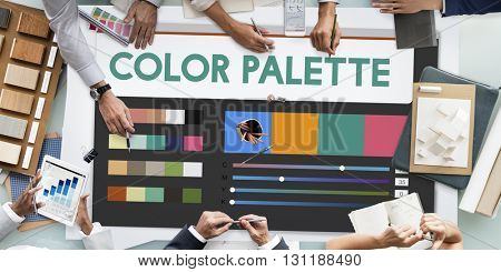 Contemporary Modern Color Palette Concept
