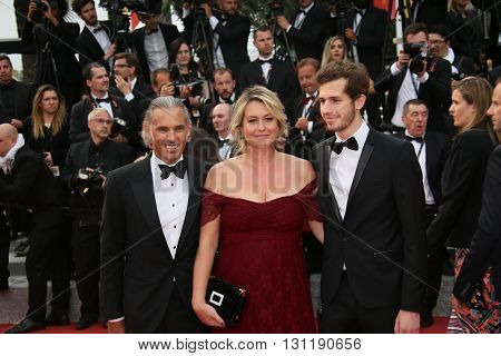Paul Belmondo attends the Closing Ceremony of the 69th annual Cannes Film Festival at the Palais des Festivals on May 22, 2016 in Cannes, France.