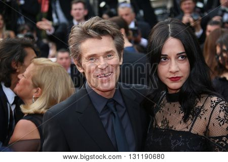 Willem Dafoe and Giada Colagrand attends the Closing Ceremony of the 69th annual Cannes Film Festival at the Palais des Festivals on May 22, 2016 in Cannes, France.