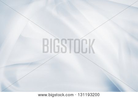 Abstract silky blue lines background