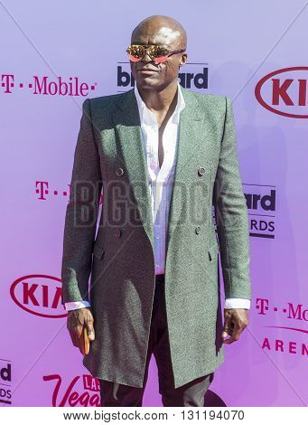 LAS VEGAS - MAY 22 : Recording artist Seal attends the 2016 Billboard Music Awards at T-Mobile Arena on May 22 2016 in Las Vegas Nevada.