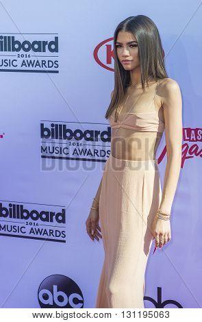 LAS VEGAS - MAY 22 : Singer/actress Zendaya attends the 2016 Billboard Music Awards at T-Mobile Arena on May 22 2016 in Las Vegas Nevada.