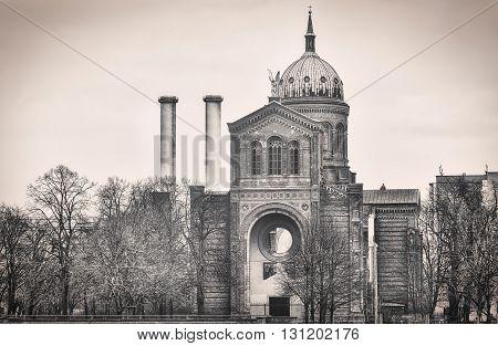 St. Michael Church Berlin Kreuzberg, vintage version
