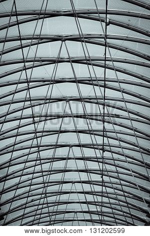 roof of a mall in Berlin for backgrounds