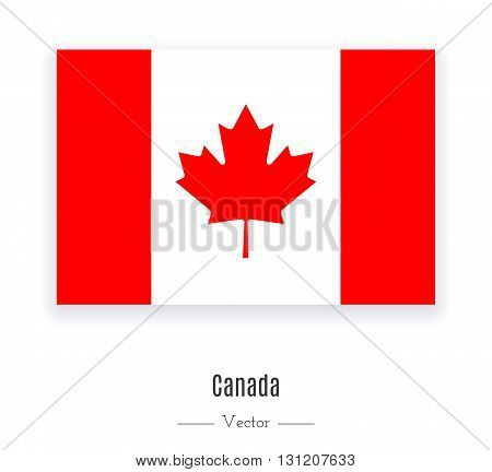 Flag of Canada. Flag of Canada vector. Flag of Canada isolated. Flag of Canada eps. Flag of Canada illustration. Flag of Canada icon. Flag of Canada ui. Flag of Canada web. Flag of Canada ui.