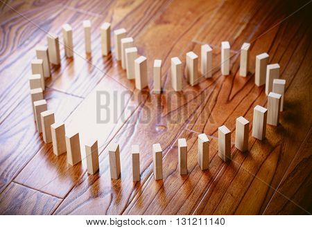 Love Domino Effect