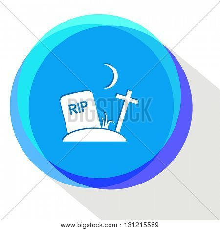 rip. Internet template. Vector icon.