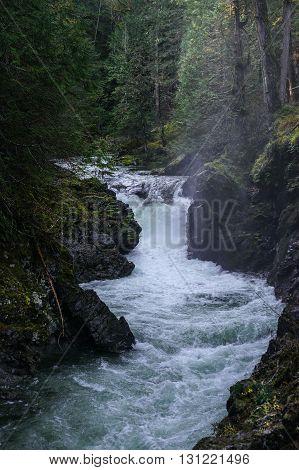 Little Qualicum River near Parksville British Columbia.