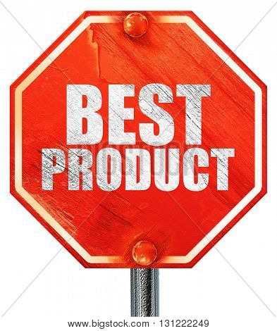 best product, 3D rendering, a red stop sign