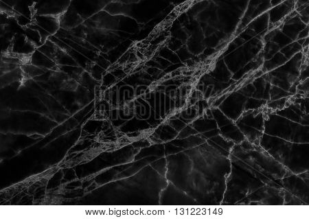 The luxury of black marble background. Black marble floor background. Black marble texture.