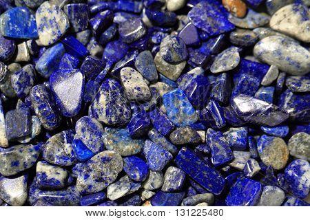Lapis Lazuli Mineral Background