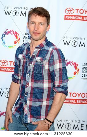 LOS ANGELES - MAY 21:  James Blunt at the An Evening With Women 2016 at Hollywood Palladium on May 21, 2016 in Los Angeles, CA