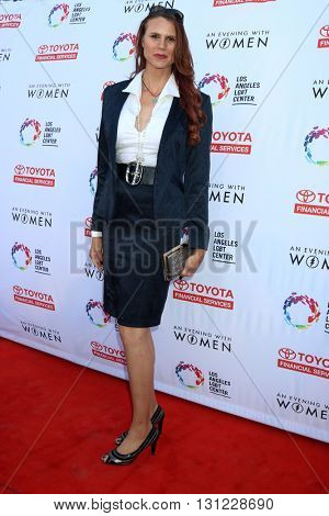 LOS ANGELES - MAY 21:  Erika Ervin, aka Amazon Eve at the An Evening With Women 2016 at Hollywood Palladium on May 21, 2016 in Los Angeles, CA