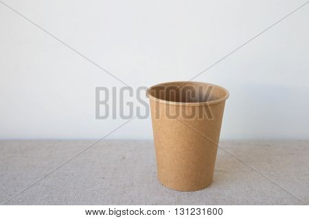 brown coffee paper cups, eco friendly party