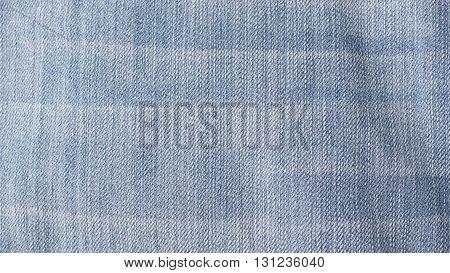 Grunge vintage blue jeans denim texture background