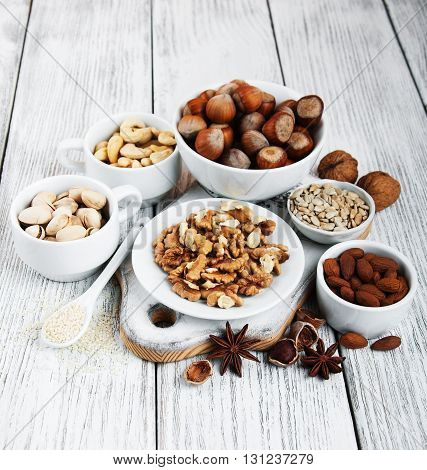 Different Types Of Nuts