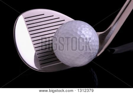 Golf Ball & Cluub