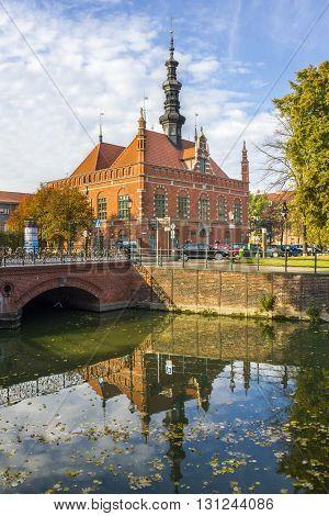 GDANSK, POLAND - OCTOBER 30: Hevelianum Centre - a modern institution popularizing science on October 30, 2011 in Gdansk.
