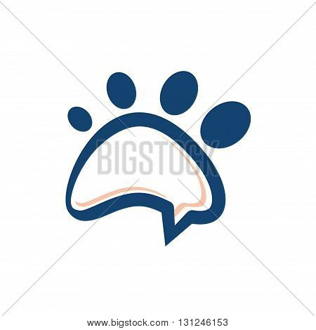 Symbol of Pet Paw Foot Opinion Chat