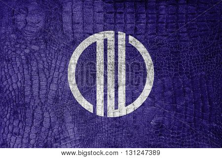 Flag Of Sendai, Japan, On A Luxurious, Fashionable Canvas