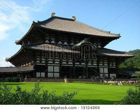 Temple In Nara, Japan