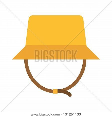Safari Panama Hat Vector Illustration